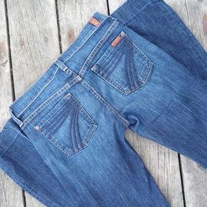 "7FAM ""dojo"" flare jeans"